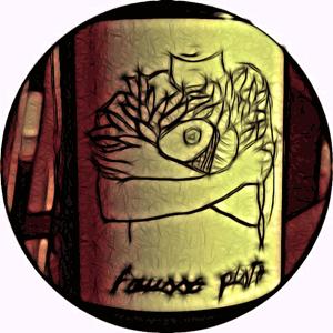 2011 Fausse Piste Syrah Label